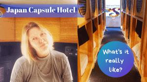 Japanese capsule hotel experience