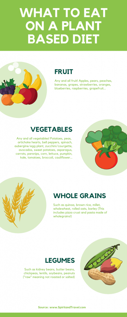 What to eat on a plant based diet