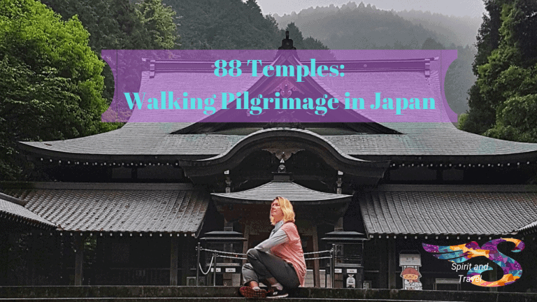 Travel from home to the spiritual island of Shikoku, Japan
