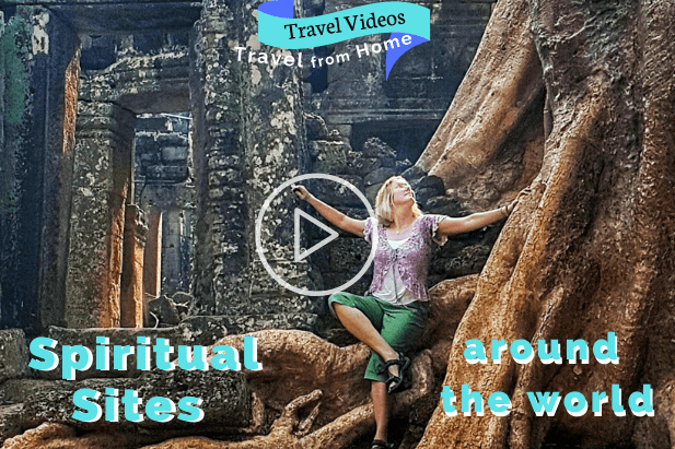 travel from home with spiritual travel videos
