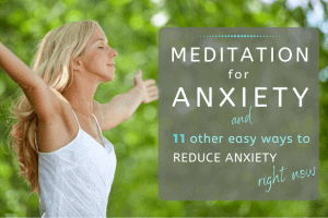 Meditation for Anxiety featured image