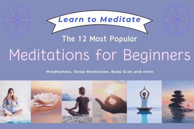 Popular Types of Meditation
